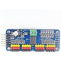 JZK® PCA9685 16 canaux 12 bits Moteur à servomoteur PWM Module IIC Pour Arduino Robot