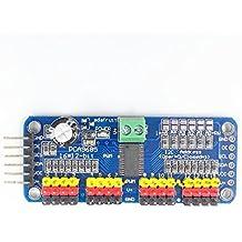 VDOTT® PCA9685 16 Kanal 12 Bit PWM Servotreiber für Arduino Himbeer PI Roboter