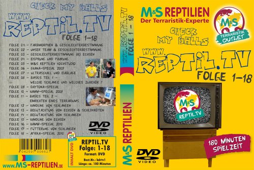 Reptil.TV Blu-Ray