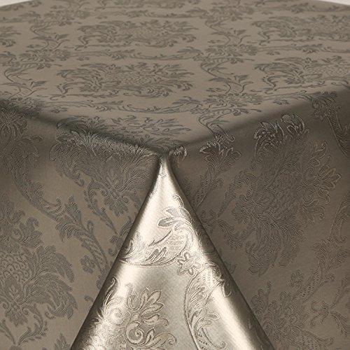 PVC Mantel Damasco plata 4metros 400cm X 140cm