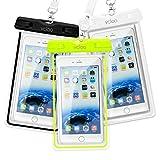 Best Vcloo Iphone 5s Waterproof Cases - Universal Waterproof Phone Case, 3 Pack Vcloo 98ft Review