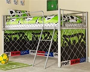 Kosy Koala Under Bed Football Tent Only, Suitable For Mid Sleeper, Cabin Bed, Fun & Colourful Kids Tent