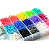 4200 Piece Rainbow Loom Bands Bracelet Making Kit