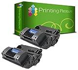 Printing Pleasure 2er Set CC364A / 64A Premium Toner Schwarz Kompatibel für HP Laserjet P4014, P4014N, P4014DN, P4015, P4015N, P4015DN, P4015TN, P4015X, P4515, P4515N, P4515TN, P4515X, P4515XM