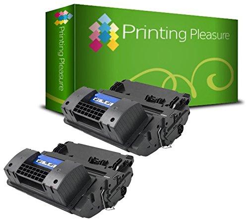 Printing Pleasure 2er Set CC364A 64A Premium Toner Schwarz kompatibel für HP Laserjet P4014, P4014N, P4014DN, P4015, P4015N, P4015DN, P4015TN, P4015X, P4515, P4515N, P4515TN, P4515X, P4515XM