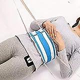 YAOBAO Rollo de cinturón de sujeción de la Cama, Ajustable Cama restricciones cinturón Chaleco de sujeción para Silla de Ruedas Paciente y Cama Cuidado de Miembros Correas