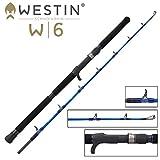 Westin W6 Jigging-T L 157cm 80-220g - Spinnrute zum Speedjiggen auf Meeresräuber, Meeresrute zum Jiggen im Warmwasser, Angelrute