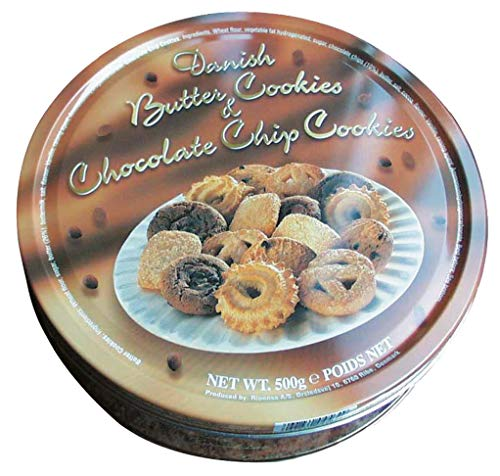 Danish Butter Cookies & Chocolate Chip