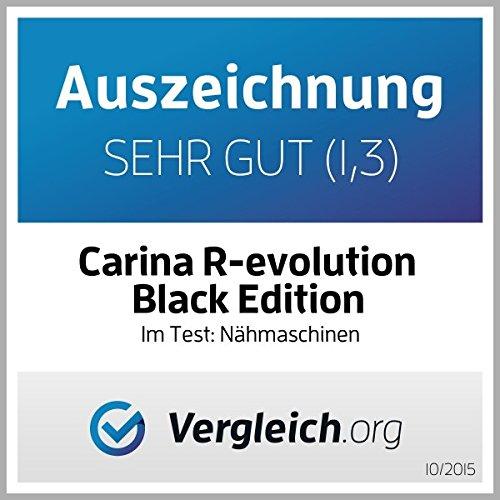 Nähmaschine Carina Revolution Black Edition 2020 der Testsieger -