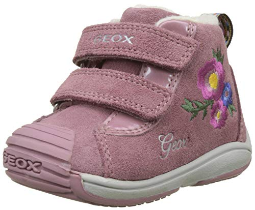 Geox Baby Mädchen B Toledo Girl C Sneaker, (Dk Pink C8006), 24 EU