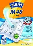 SWIRL-Staubsaugerbeutel M48 MicroPor, Inhalt: 4 Stk. Beutel aus reißfestem Vlies
