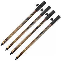 4x G8DS® Aluminium Bank Stick Camo 50 - 90 cm Rutenhalter Rutenauflage Rodpod