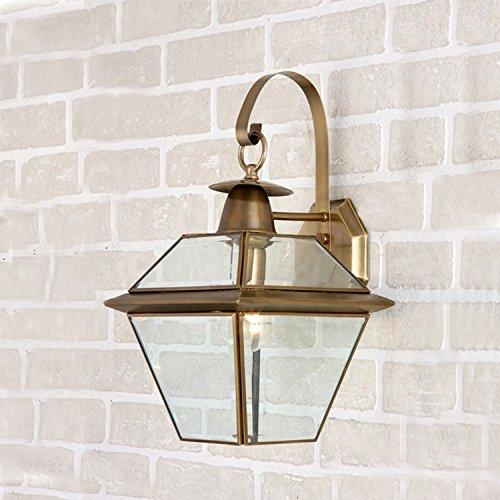 Kupfer Wand Schatten (Generic Kupfer lack Beleuchtung im Schlafzimmer Wand Lampe Esay installieren)
