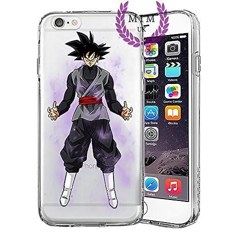 Étuis Coque iPhone Dragon Ball Z Super GT Case Cover - Dernières conceptions uniques - Derniers modèles - Tous les modèles iPhone - Neuf - La plus haute qualité - Tournament Of Power - Goku Black Rose - Goku Blue - Gohan - Jiren - Vegeta Blue - DBS - DBZ - DBGT - Beaucoup De Designs - MIM UK (iPhone 5/5s/SE, Goku Black)