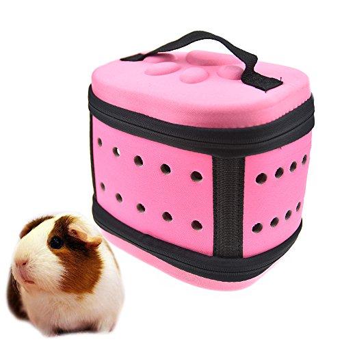 Bolsa de transporte rosa para Erizos