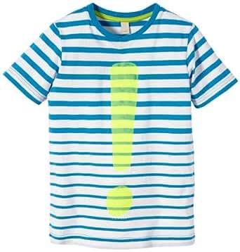 ESPRIT Jungen T-Shirt Striped, Gestreift, Gr. 92, Blau (STRONG BLUE)