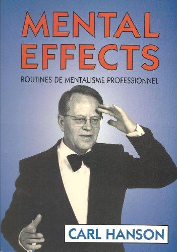 Mental effects; routines de mentalisme professionnel.