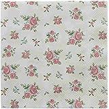 Clayre & Eef 73.013Servilletas de papel Servilletas de papel (20unidades) rosas aprox. 33x 33cm