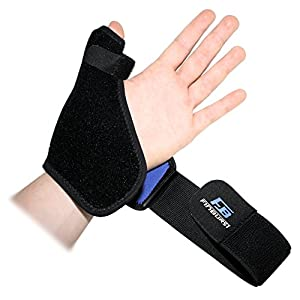 FinBurst Thumb Support Splint - Premium Spica Brace for High-Speed Recovery, Pain Relief, Arthritis etc. - Personalized Fit Just For You