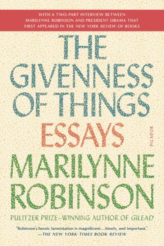 The Givenness of Things Cover Image