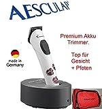 """Rotschopf24 Edition: Aesculap """"Exacta"""" Akku Trimmer f. Feinarbeiten wie Gesicht und Pfoten. + Tasche. 43528"""