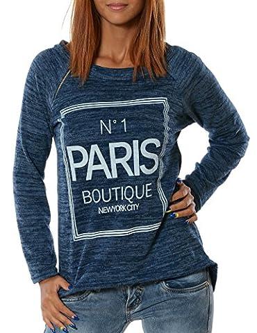 Damen Pullover (weitere Farben) No 13401, Farbe:Hellblau;Größe:One Size