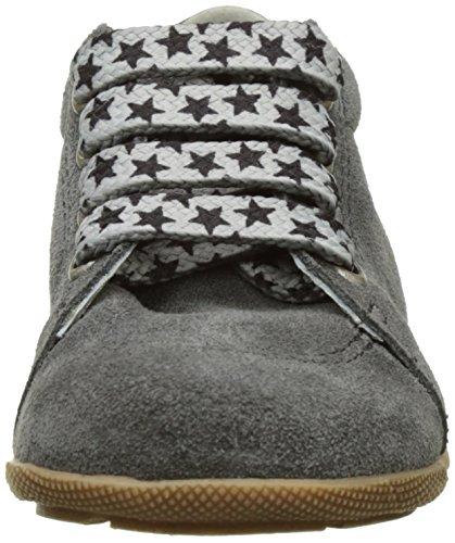En-fant unisex bambini scarpe stringate primi passi, pelle, 814126U Grigio