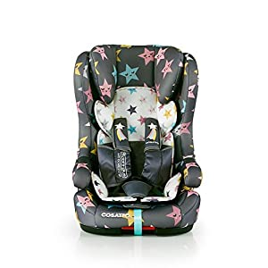 Cosatto Hubbub Isofix Car Seat Group 1 2 3, 9-36 kg, Happy Hush Stars   14