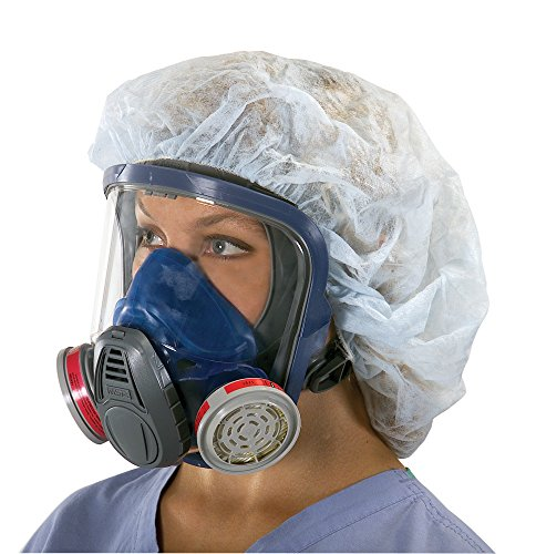 MSA 10028995 Advantage 3200 Full-Facepiece Respirator with Rubber Harness, Medium by MSA (Msa-harness)