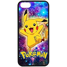 Pokemon Pikachu iPhone 5S para, iPhone 5 funda, 5 iPhone para, iPhone 5S carcasa, funda para iPhone 5S, TPU shell funda carcasa protectora blanda para iPhone 5/5S