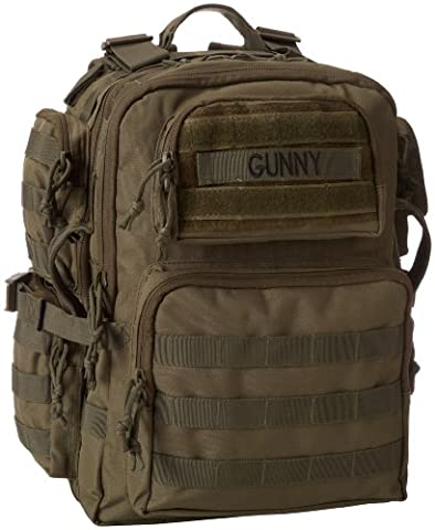TRU-SPEC Tour Of Duty Gunny Backpack, Olive Drab, Large