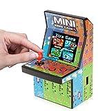 """80er Retro Mini Arcade Spielautomat mit 2.8"""" LCD Farb Display, eingebautem Lautsprecher und 108 Videospiele"""