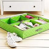 Styleys 6 Pairs Shoes Storage Box Shoe O...