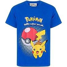Pokemon Pikachu Pokeball Kids T-Shirt