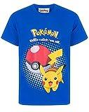 Pokemon Pikachu Pokeball Jungen T-Shirt