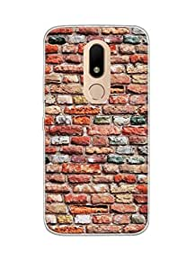 Mintzz Silicon Printed Back Cover For Moto M