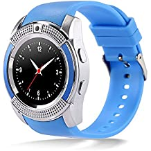 Bingo C6 Blue Smartwatch With Bluetooth and Sim Enabling Features.