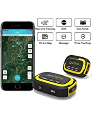Gotele Real-time GPS Tracker Track Erohne Monthly Fee Offline GPS Geräteverfolgen Who Needs No Power/Tracker for Outdoor Activities, Hiking, Hunting, Children and Pets