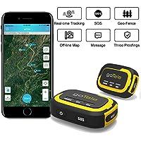 goTele Echtzeit-GPS-Tracker Trackerohne monatliche Gebühr Offline-GPS-Geräteverfolgen, der Kein Netz Braucht/Tracker für Outdooraktivitäten, Wandern, Jagd, Kinder und Haustiere