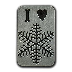 Toejamr Stomp Pad–I Love Schnee–Grau