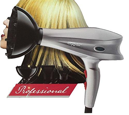 Takestop® asciugacapelli con diffusore e pettine phon 3000 watt capelli professionale parrucchiere coiffeur barbiere