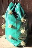 Horse and dog supplies Heusack Heutasche für die natürliche Bodenfutterung (grün)