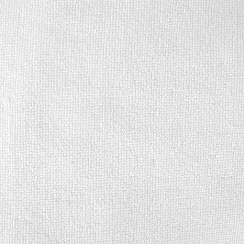 dii da donna in microfibra doccia Wrap, 139,7x 82,5cm Beach Wrap, spa Wrap, Bath Wrap, lavabile in lavatrice Basico White Eggplant