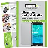 dipos I 2X Schutzfolie matt passend für Asus ZenFone Go TV Folie Bildschirmschutzfolie