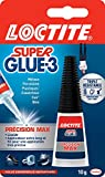 Loctite Colle forte/Super Glue 3 - Précision Max - 10 g
