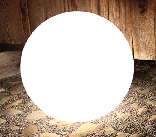 Kugelleuchte, Gartenkugel, GlowOrb white, 56cm Ø, 10480