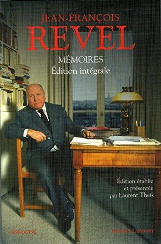 Mémoires par Jean-François REVEL