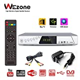 Wezone 8785 DVB-S2 Satellite TV Receiver Set Top Box 1080 HD Support FTA