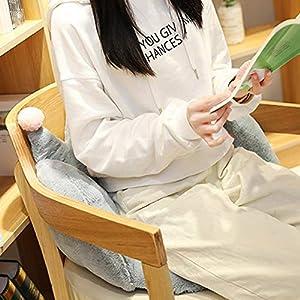 Plüsch Crown Sitzkissen, Stuhlpolster Unterstützung Taille Rückenpolster, Bodenkissen Für Home Office Stuhl, Autositz…