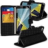 Gadget Giant® Vodafone Smart Ultra 6 Kohlefaser Carbon